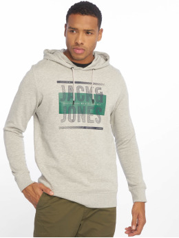 Jack & Jones Hoodies jcoMario šedá