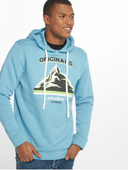 Jack & Jones Hoodies jorMonument blå