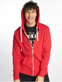 Jack & Jones Hoodies con zip jjeHolmen rosso