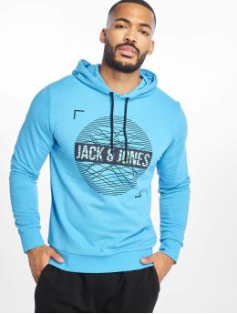 Jack & Jones Hoody jcoBooster blau
