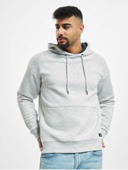 Jack & Jones Hoody jcoButton grau