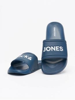 Jack & Jones Japonki JFW Larry Pool  niebieski