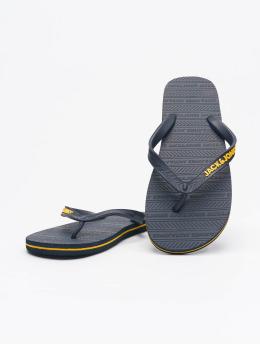 Jack & Jones Japonki JFW Basic Sandals niebieski
