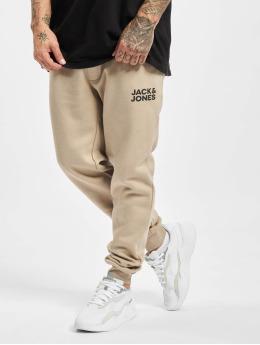 Jack & Jones Jogging kalhoty Jjigordon Jjnewsoft GMS  béžový