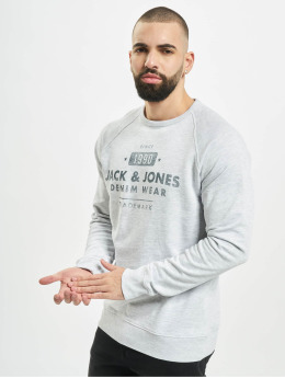 Jack & Jones Jumper jjeJeans Washed white