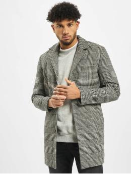Jack & Jones Kabáty jorBlinders Checked Wool èierna