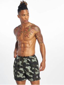 Jack & Jones Kąpielówki jjCali Camp Swim moro