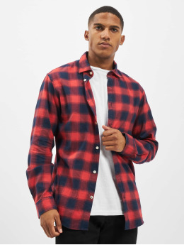 Jack & Jones Košele jjePlain Check Noos èervená