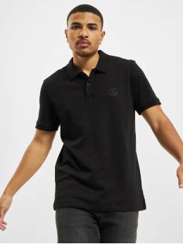 Jack & Jones Koszulki Polo Jjejersey czarny