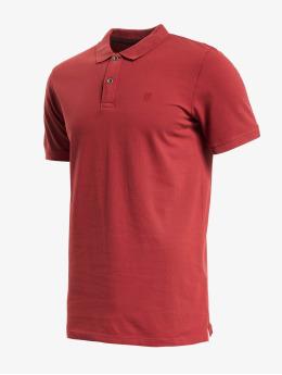 Jack & Jones Koszulki Polo jjeJeans Wash Polo Camp  czerwony