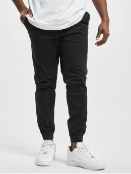 Jack & Jones Látkové kalhoty jjiGordon jjLane AKM Noos čern