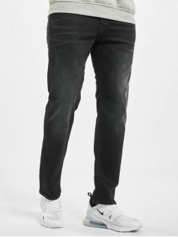 Jack & Jones Løstsittende bukser jjiChris jjRex Jos 221 Loose Fit svart