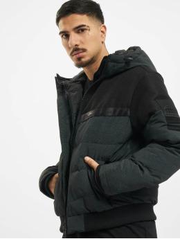 Jack & Jones Letecká bunda jcoCharles Hooded čern