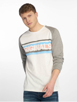 Jack & Jones Longsleeve jorSmack white