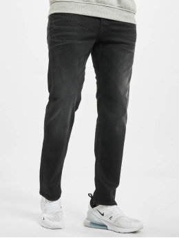 Jack & Jones Loose Fit Jeans jjiChris jjRex Jos 221 Loose Fit sort