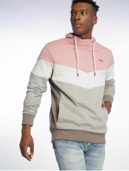 Jack & Jones Maglia jorHampton Cross Over High Neck rosa chiaro