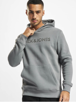 Jack & Jones Mikiny Nickel  šedá