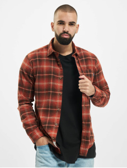 Jack & Jones overhemd jprBlujamie One Pocket bruin