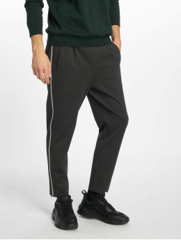 Jack & Jones Pantalon chino jjiVega jjTrash WW Binding gris
