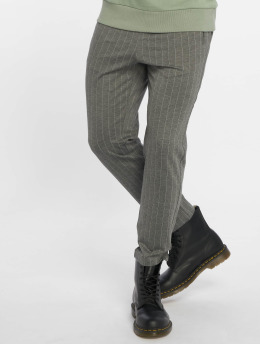 Jack & Jones Pantalone chino jjiVega jjTrash WW Pinstripe grigio