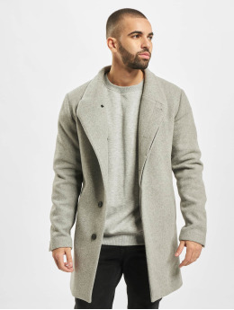 Jack & Jones Parka jprCollum Wool  grijs
