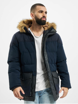 Jack & Jones Parka jprBluwoodland Expedition modrá