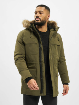 Jack & Jones Parka jprExpedition oliwkowy