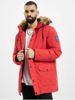 Jack & Jones Parka jjSky rouge