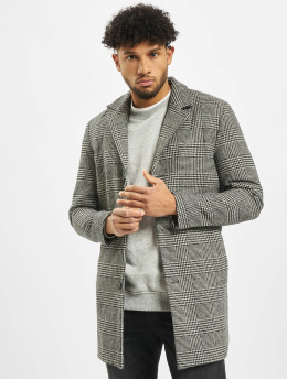 Jack & Jones Parka jorBlinders Checked Wool zwart