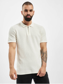 Jack & Jones Polo jprBlabristol  blanc