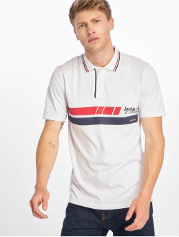 Jack & Jones Polo trika jcoTrue bílý