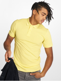Jack & Jones Poloshirt jjeBasic gelb