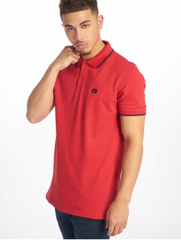 Jack & Jones Poloshirt jjeStone Polo rot