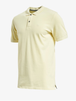 Jack & Jones Poloshirt jjeJeans Wash Polo Camp yellow