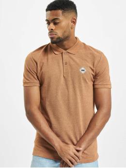 Jack & Jones Poloshirts jorMelange  brun