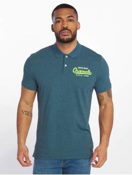 Jack & Jones Poloskjorter jorVarcity blå