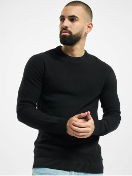 Jack & Jones Pullover jjeAaron Knit Noos black