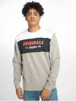 Jack & Jones Pullover jorShakedowns grau