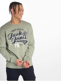 Jack & Jones Pullover jjeLogo grün