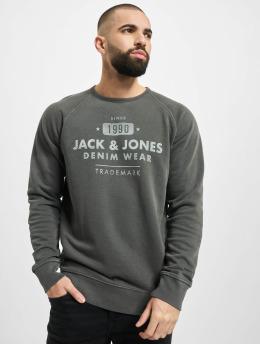 Jack & Jones Pullover jjeJeans schwarz
