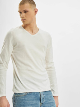 Jack & Jones Pullover jjThorn Knit  weiß