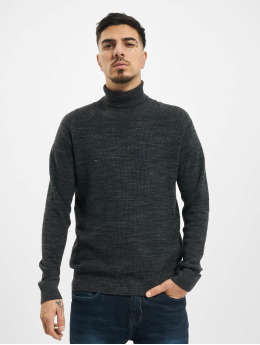 Jack & Jones Pulóvre jprBlamoniter Knit Roll Neck šedá