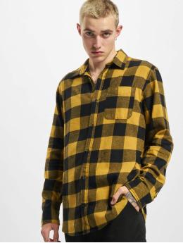 Jack & Jones Shirt Jorchester Check  brown