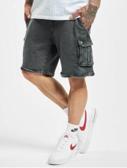 Jack & Jones shorts jjiLee Sweat Cargo VIY zwart