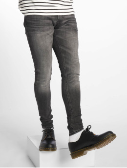 Jack & Jones Skinny Jeans jjiTom jjOriginal Am 817 čern