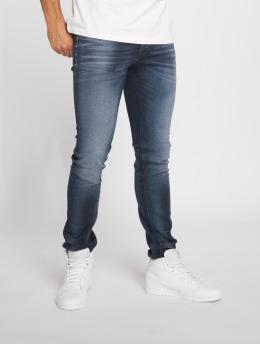 Jack & Jones Skinny jeans jjiGlenn blå