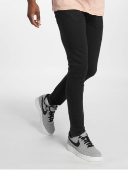 Jack & Jones Slim Fit Jeans jjiGlenn čern