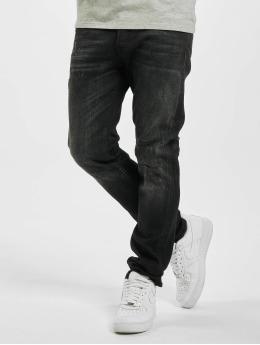 Jack & Jones Slim Fit Jeans jjiGlenn jjiCon JOS 141 50sps STS čern