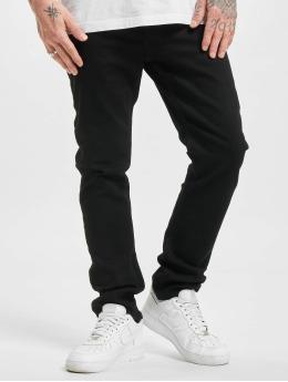 Jack & Jones Slim Fit Jeans jjiGlenn jjOriginal NA 02 čern