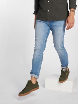 Jack & Jones Slim Fit Jeans jiGlenn jjOriginal NZ003 синий
